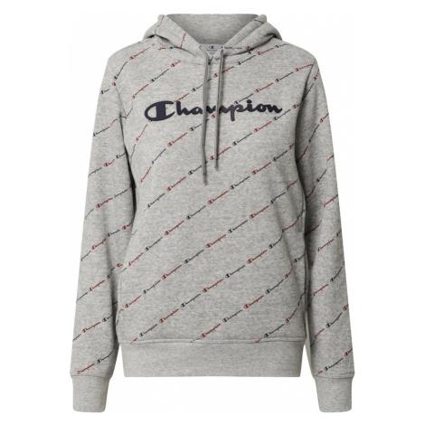 Champion Authentic Athletic Apparel Mikina  sivá / tmavomodrá / tmavočervená