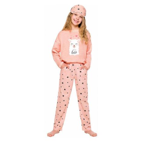 Dievčenské pyžamo Sofie ružové s lamou Taro