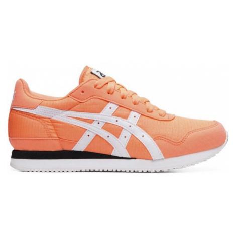 Asics TIGER RUNNER oranžová - Dámska obuv na voľný čas