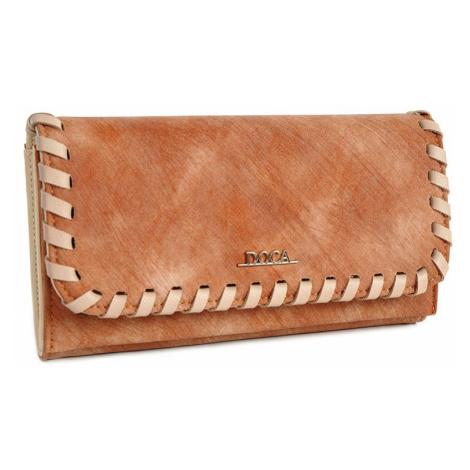 Dámska peňaženka Doca 64654 - hnedá