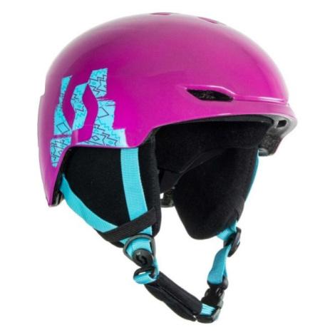 Scott KEEPER 2 fialová - Detská lyžiarska prilba