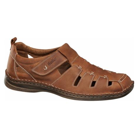 Gallus - Pánske kožené sandále