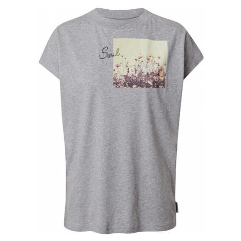 Maloja Funkčné tričko 'Gleditsche'  sivá melírovaná / zmiešané farby