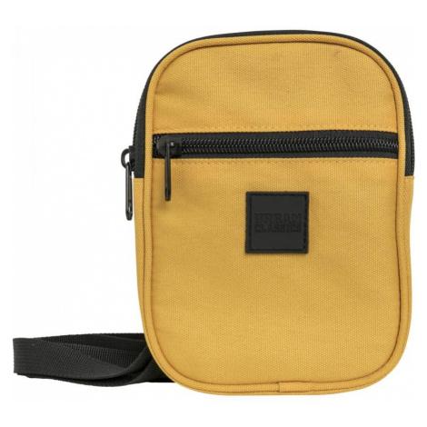 Taška cez rameno Urban Classics Festival Bag Small chrome yellow