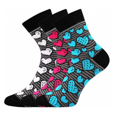 3PACK ponožky BOMA viacfarebné (Ivana 59) M