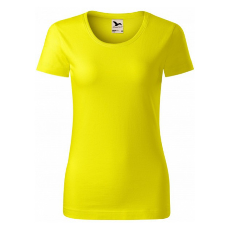 Dámske tričko, organická bavlna, citrónová