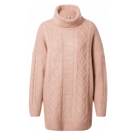 ABOUT YOU Oversize sveter 'Christin'  ružová