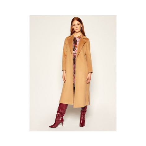 MAX&Co. Prechodný kabát Longrun 40149520 Hnedá Regular Fit