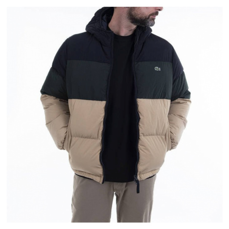 Lacoste Short Lightweight Water Resistant Puffer Coat BH1966 CY9