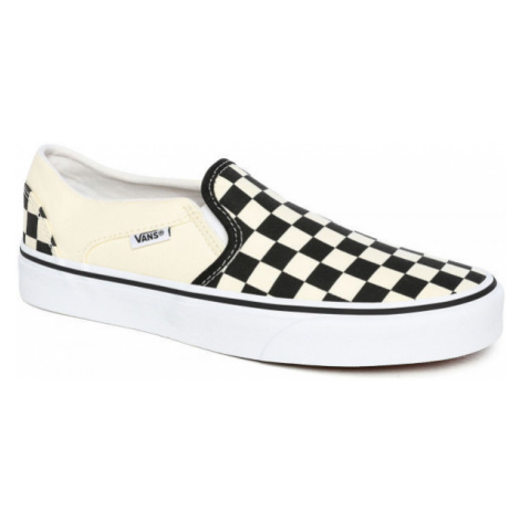 Vans WM ASHER CHCKRBRD - Dámska slip-on obuv