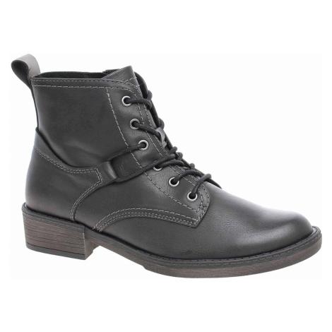 Dámská kotníková obuv Tamaris 1-25116-21 black 1-1-25116-21 001