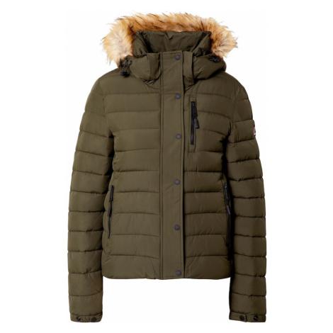 Superdry Zimná bunda  jedľová