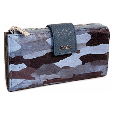 Dámska peňaženka Doca 64952 - modrá