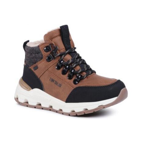 Šnurovacia obuv Tom Tailor 907180490 Imitácia kože/-Imitácia kože