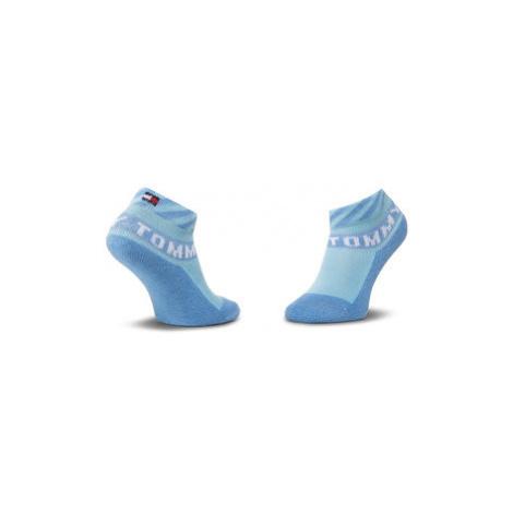 TOMMY HILFIGER Súprava 2 párov detských členkových ponožiek 320503001025015 Modrá