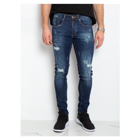 Men´s blue denim trousers