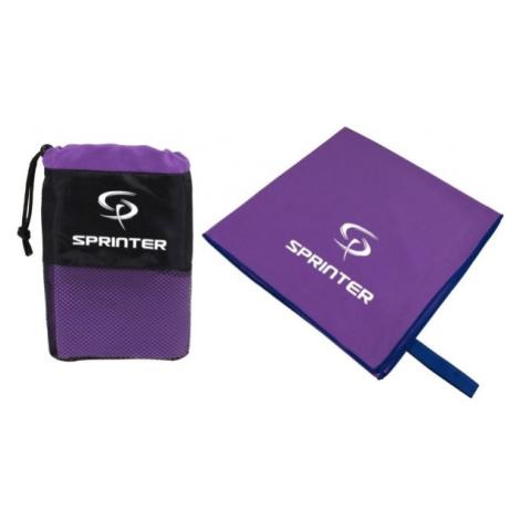 Sprinter UTERÁK 100x160CM fialová - Sportovní uterák z mikrovlákna