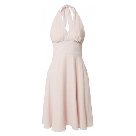 SWING Kokteilové šaty  ružová