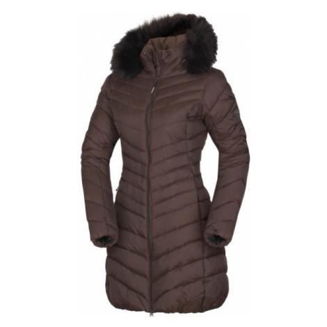 Northfinder VONILA hnedá - Dámska dlhá zimná bunda
