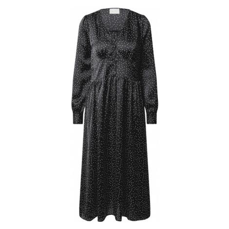 Neo Noir Šaty 'Lorina'  čierna / biela