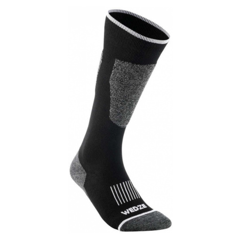 WEDZE Lyžiarske Ponožky 100 čierne