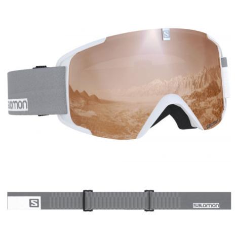 Salomon XVIEW ACCESS biela - Lyžiarske okuliare
