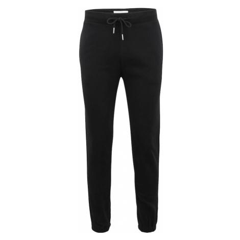 Abercrombie & Fitch Pyžamové nohavice  čierna