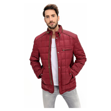 M8640 DEWBERRY MEN's COAT-BURGUNDY