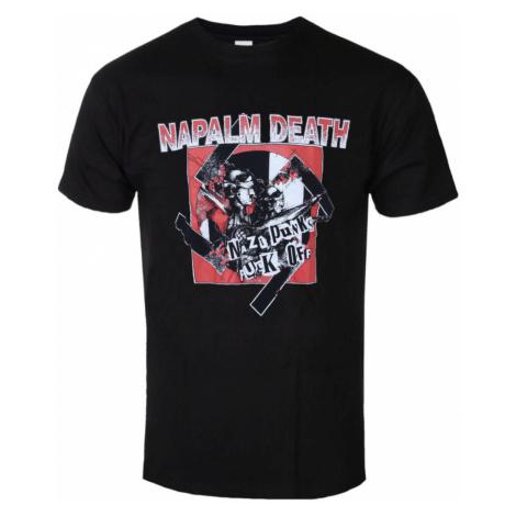 Tričko metal RAZAMATAZ Napalm Death Nazi Punks Čierna viacfarebná