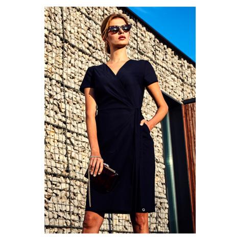Tmavomodré šaty 270084 Enny