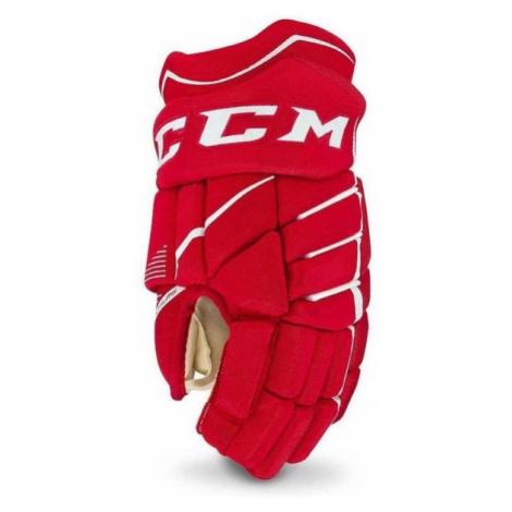 CCM JETSPEED 370 JR červená - Detské hokejové rukavice
