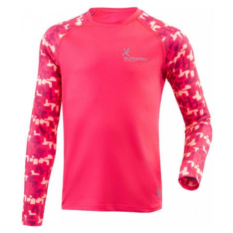 Klimatex TAIKA červená - Dámske funkčné bežecké tričko