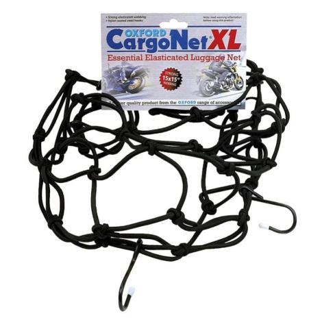 Pružná batožinová sieť pre motocykle Oxford Cargo Net XL 38x38 cm