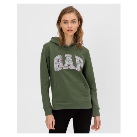 GAP zelené dámska mikina s logom
