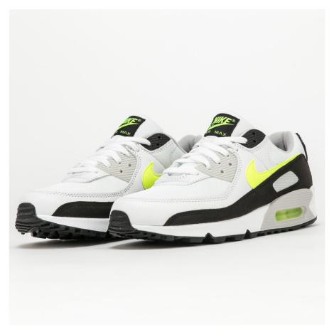 Nike Air Max 90 white / hot lime - black