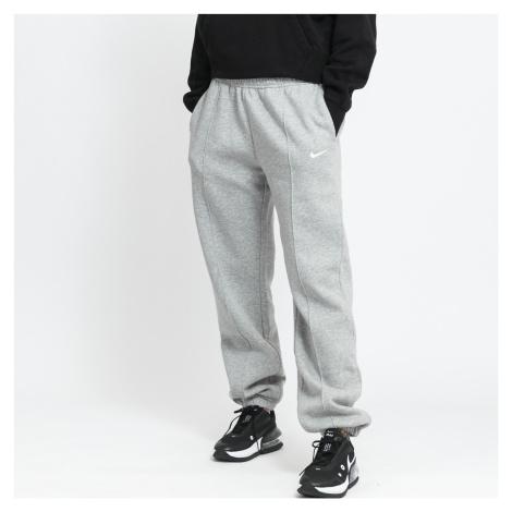 Nike W NSW Essential Fleece Trend Pants melange šedé