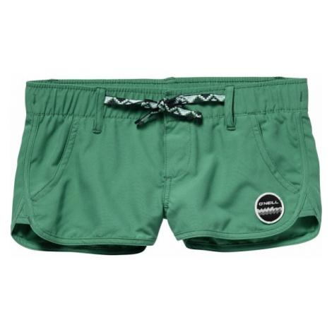 O'Neill PG CHICA BELT SHORTY tmavo zelená - Dievčenské šortky