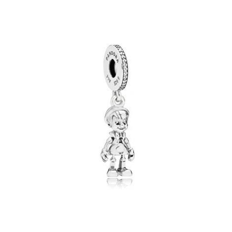 Pandora Strieborný prívesok Disney Pinocchio 797489CZ