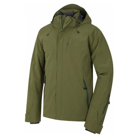 Husky Gopa tm. olivová, Pánskalyžiarska bunda