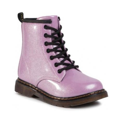 Šnurovacia obuv Nelli Blu ES-K18970 Ekologická koža/-Ekologická koža