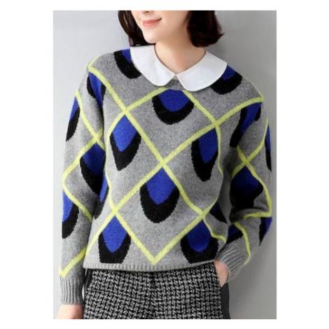 Dámsky sveter Aileen - modrý