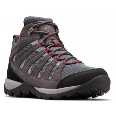 Columbia REDMOND V2 MID WP tmavo šedá - Pánska outdoorová obuv