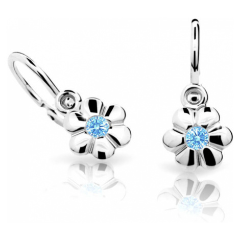 Cutie Jewellery Detské náušnice C1736-10-X-2 světle modrá