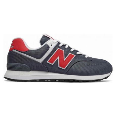 New Balance ML574SCJ tmavo modrá - Pánska voľnočasová obuv