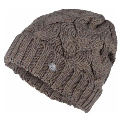 Willard ALPAKA hnedá - Dámska pletená čiapka