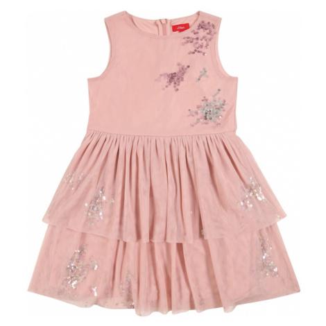 s.Oliver Junior Šaty  rosé