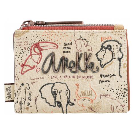Anekke béžové malá peňaženka Safari Fuison