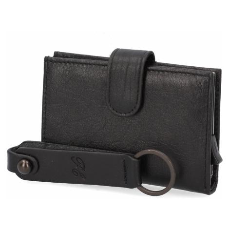 Pat Calvin hladká koža peňaženka čierna