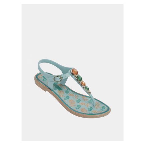 Modré dievčenské sandále Grendha