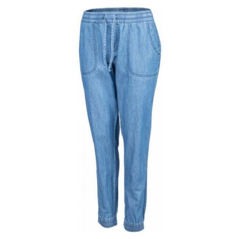Willard LETYSA modrá - Dámske plátené nohavice džínsového vzhľadu